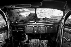 Old Car Interior - Laporte, CO - 2004 (c) Cole Thompson