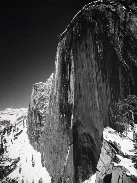 """Monolith, the Face of Half Dome"" © Ansel Adams"