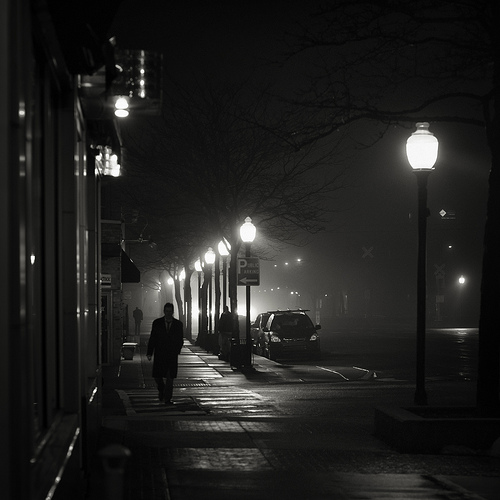 """people climbed into the night"" (c) Brian Day"