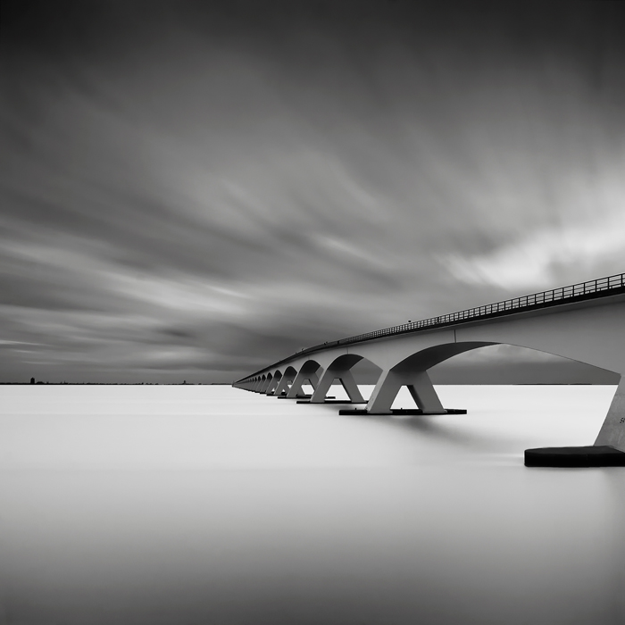 Bridge Study IV & Bridge Study VI (c) Joel Tjintjelaar  these two images marked a change in my post processing workflow, using early forms of the techniques I now call Selective Gradient Masking (SGM). Heavily inspired by Michael Levin's work. Also one of the very first that won me a major international award at the SWPA and IPA.