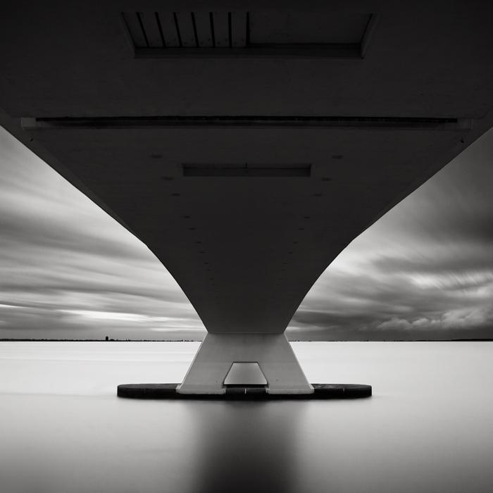 Bridge Study VI (c) Joel Tjintjelaar