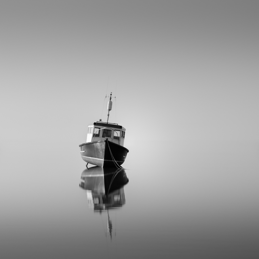 """Union"" (c) Darren Moore In stark contrast to the above image, which had many hours of work put into it, ""Union"" took about 20mins to complete and is one of my favourites purely for its simplicity. The foggy weather conditions, which removed the background distractions and isolated the boat, played a big part in this image. I processed the image in Adobe Lightroom, using a number of radial filters to adjust clarity, contrast and highlights on specific parts of the boat and finally a slight gradient to the top and bottom half of the frame in order to balance the image."