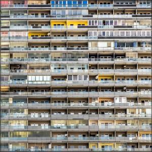 """two men having lunch on the balcony"" (c) Tom McLaughlan"