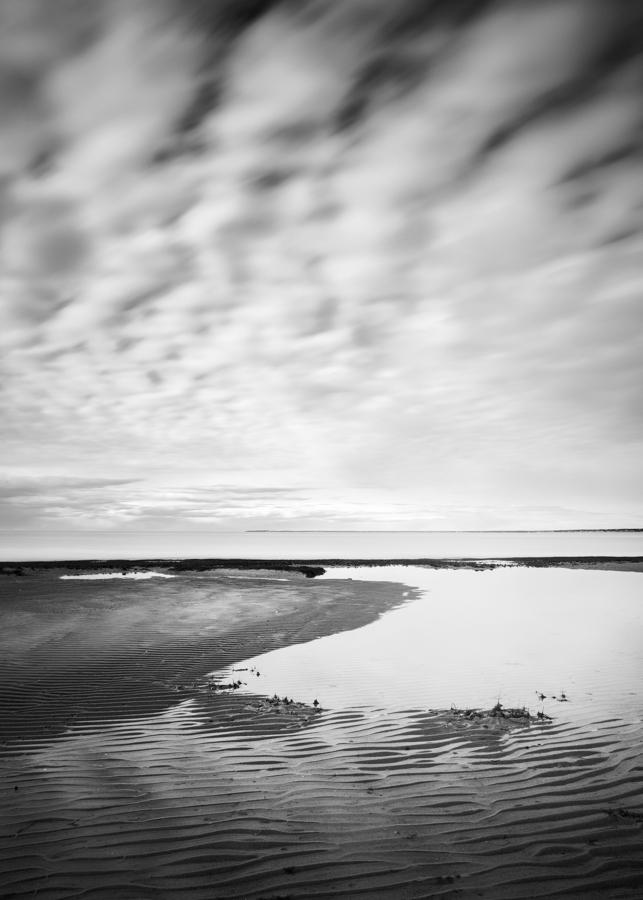 """""""Cape Cod Low Tide Textures II"""" (c) Nate Parker"""