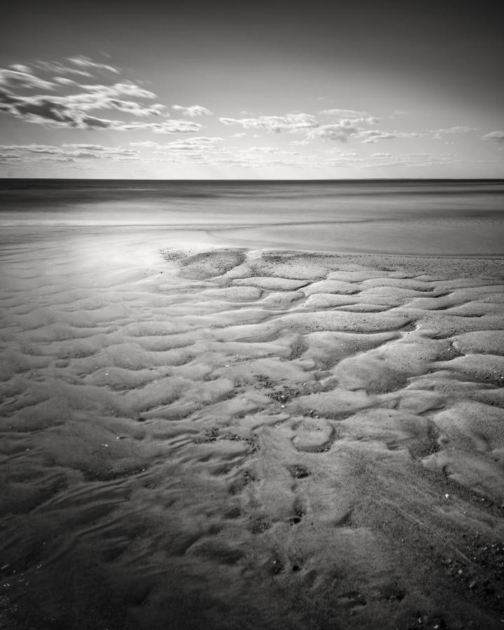 """""""Cape Cod Low Tide Textures IX"""" (c) Nate Parker"""