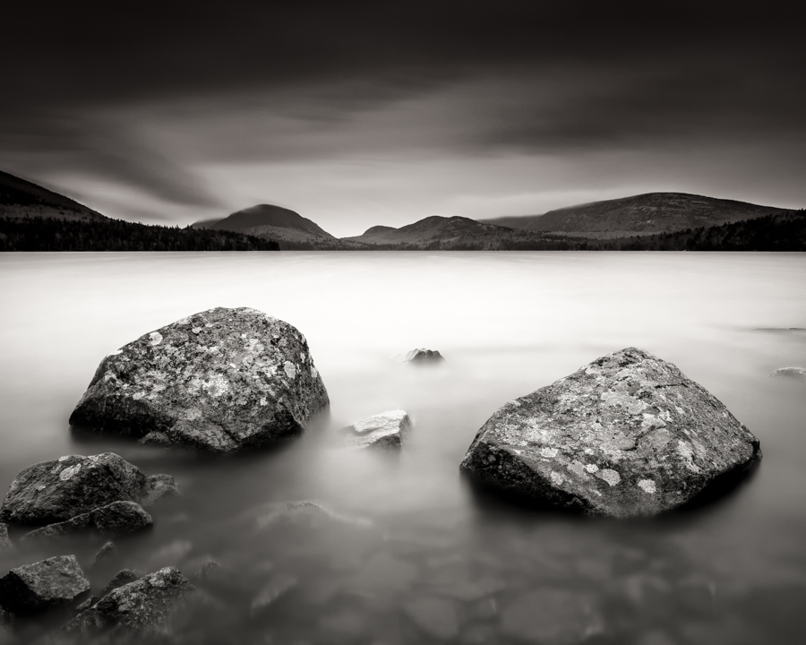 """Eagle Lake Lichen Rocks"" (c) Nathan Wirth"