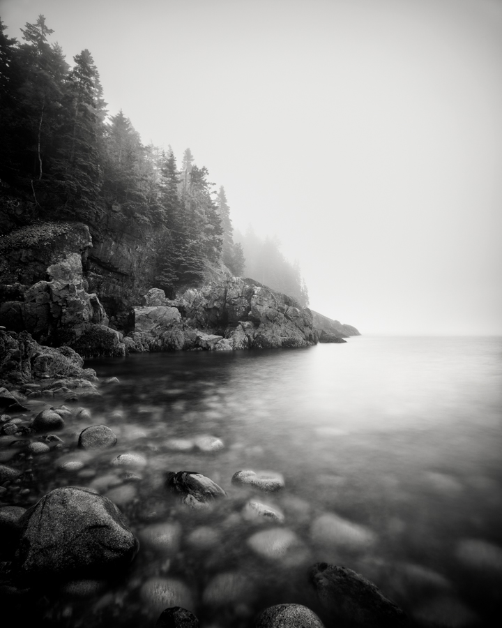 """Hunter Beach Summer Fog"" (c) Nate Parker"