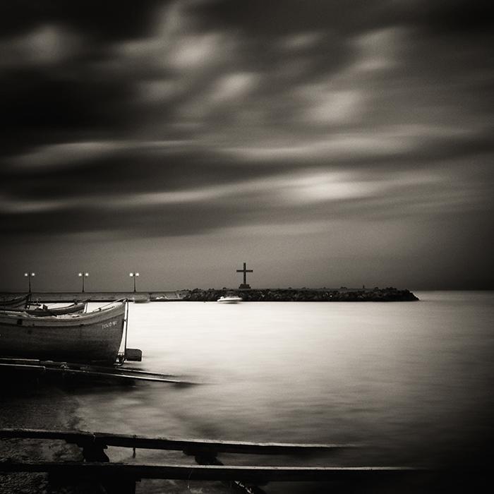 """""""Quay near Pomorie"""" (c) Samuil Velichkov"""