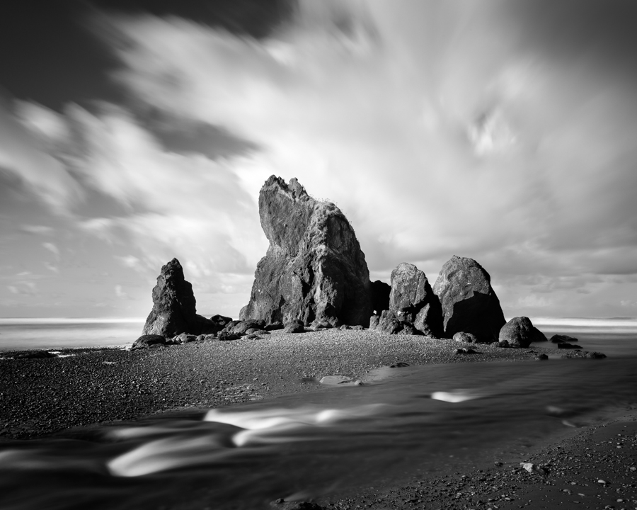 """Ruby Beach Sea Stacks"" (c) Nate Parker"