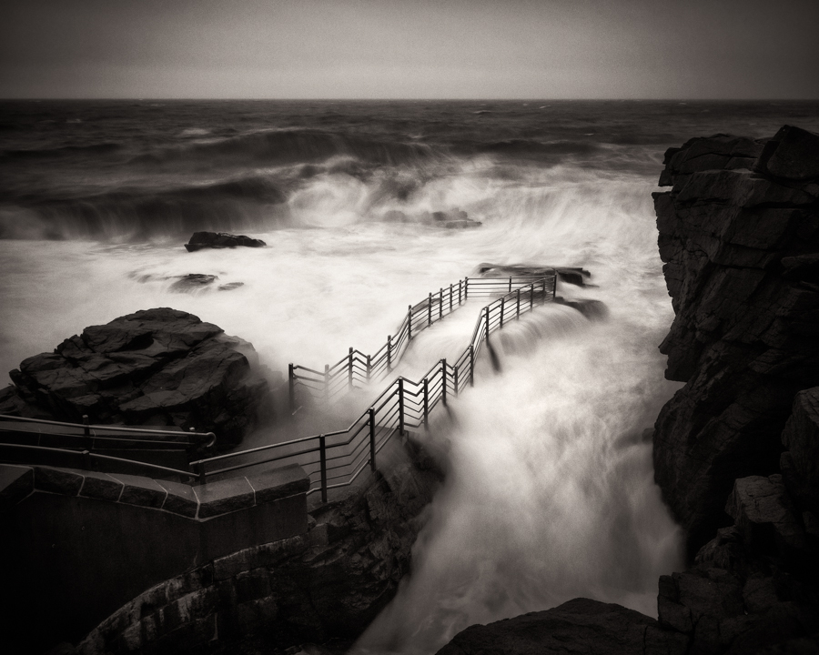 """Thunder Hole Storm Waves"" (c) Nate Parker"