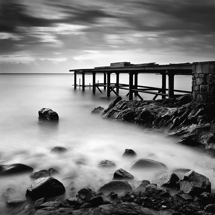 """Unfinished pier 2"" (c) Samuil Velichkov"