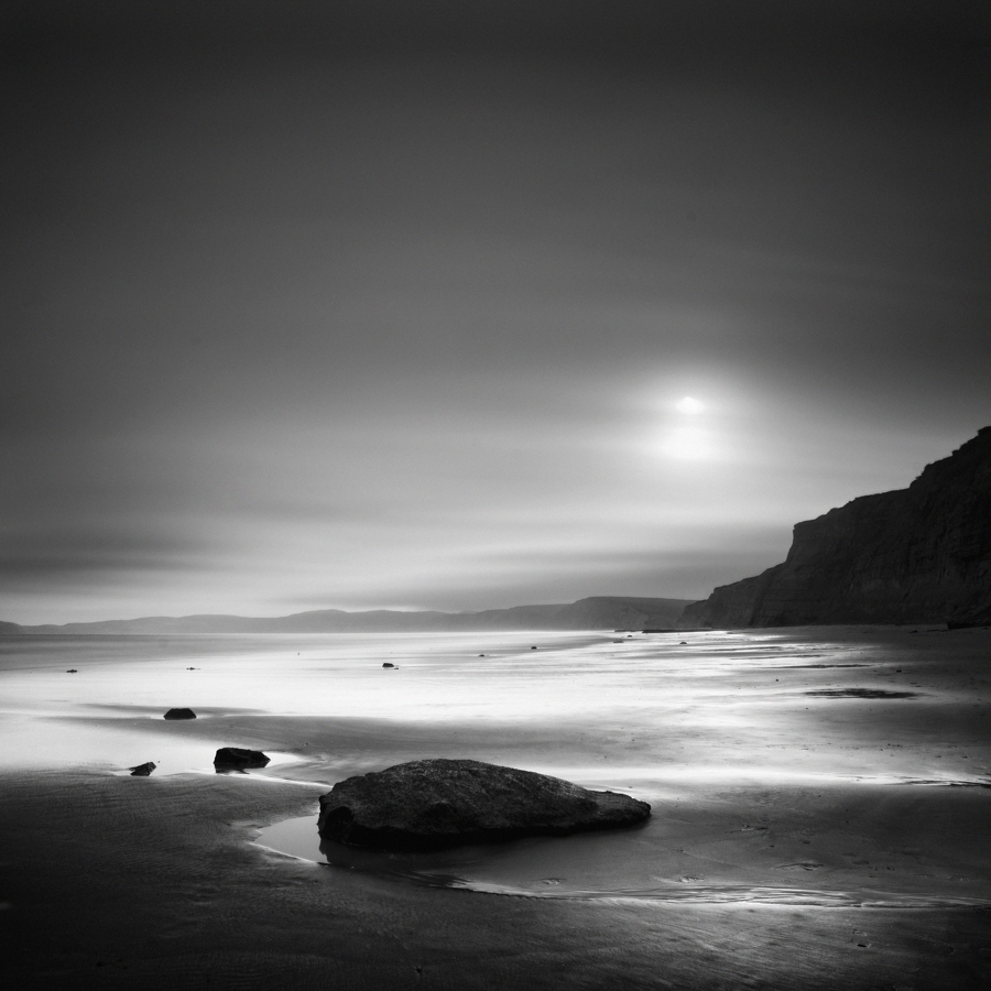 """Drake's at Sunset II"" (c) Nathan Wirth"