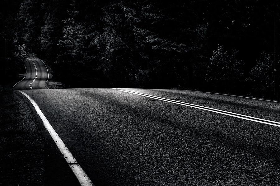 """""""Dark Road"""" (c) Mikko Lagerstedt"""