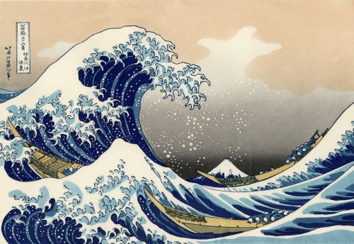 """The Great Wave Off Kanagawa"" (""??????"") - Katsushika Hokusai"