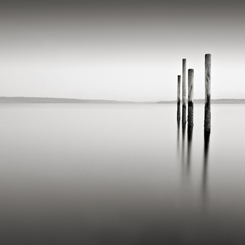"""Four Poles"" Port Townsend, Washington (c) David Fokos"