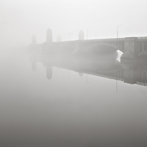 """Longfellow Bridge II"" Boston, Massachusetts (c) David Fokos"