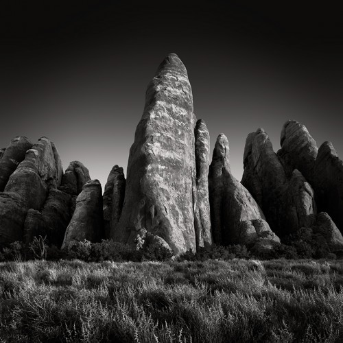 Towering Stone Fins (c) Jan Bell